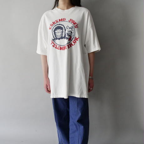 made in USA front &back print  T-shiirt