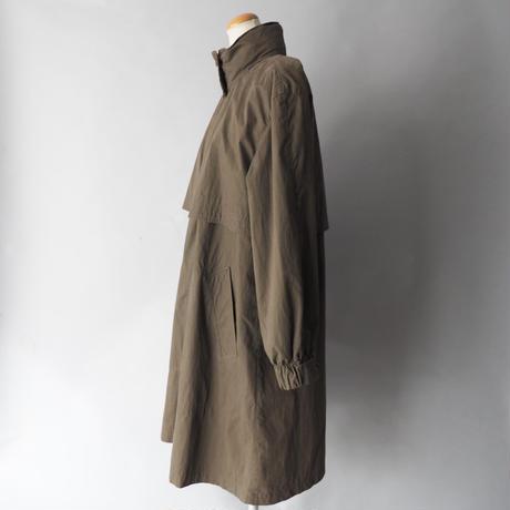 ladies'  old Misty Harbor stand collar coat