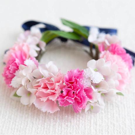 花かんむり Thanks Mom(Pink)アーティフィシャルフラワー