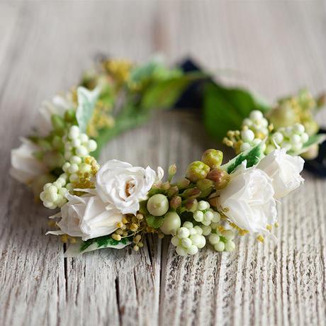 花かんむり Natural(ナチュラル)プリザーブドフラワー&アーティフィシャル