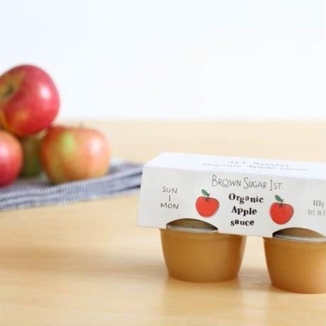 オーガニックりんご100%の【すりおろしりんご】オーガニックアップルソース