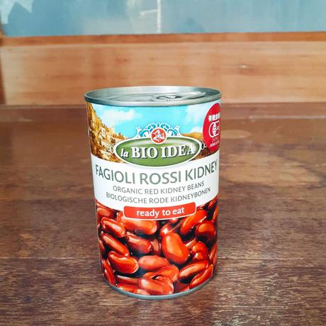 有機 金時豆 水煮缶