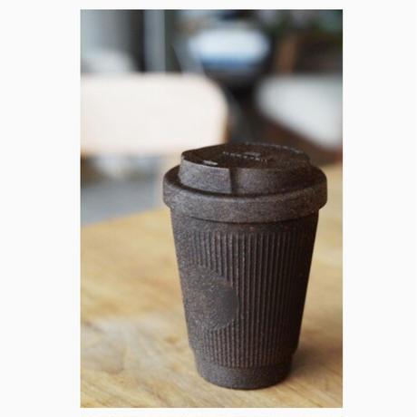 ドイツ産コーヒーカップ〜コーヒー抽出かすと生分解素材〜