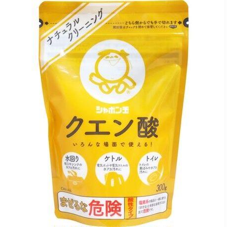 シャボン玉 クエン酸 300g【掃除用品】