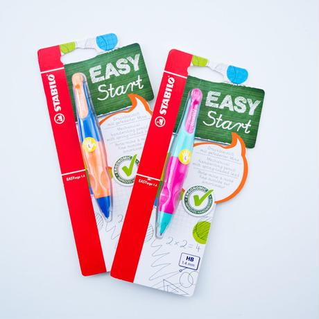 STABILO Easy ergo イージーエルゴ1.4mmシャープペン・左手用(左利き用)