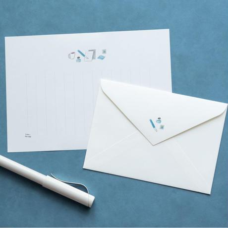 左ききのレターセット「letter」