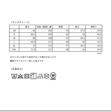 左ききのシャツ with 10YC(刺繍無し・ネイビー)