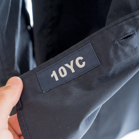 左ききのシャツ with 10YC(ネイビー)