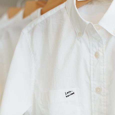 左ききのシャツ with 10YC(ホワイト)