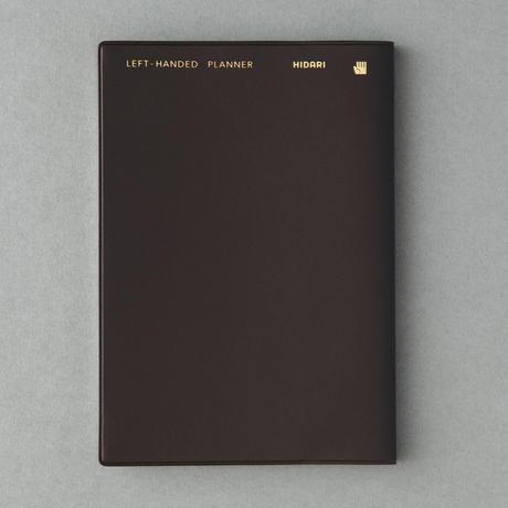 左ききの手帳 UNDATED(日付記入式)