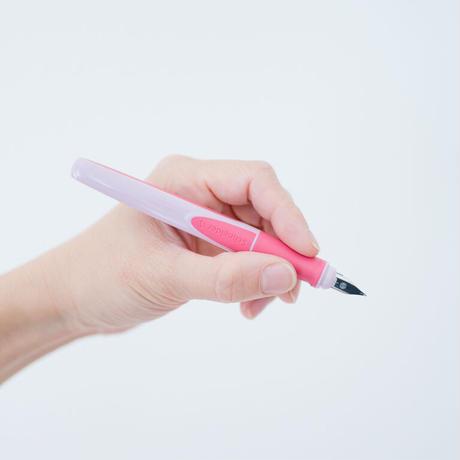 【数量限定ピンク】Schneider 万年筆「Ray」/左手用