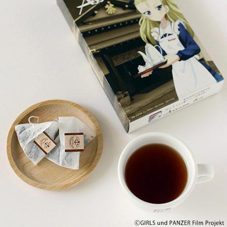(ガールズ&パンツァー)アッ!サムと驚くハッパお茶お茶 Assam tea