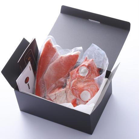 極冷 地金目鯛 ※特殊な凍結技術を駆使し、 生と比べても遜色ない冷凍金目です!