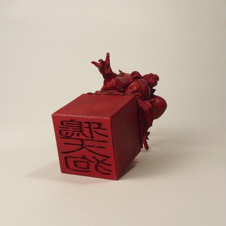 工房仕上げ 「鴉天狗」マンスリーGK2020年7月号【印形】