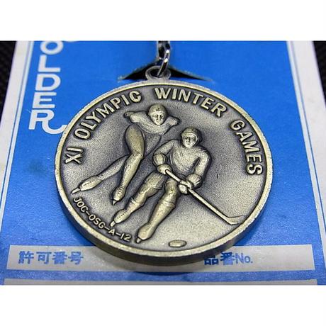昭和47年 札幌オリンピック冬季大会記念 キーホルダー