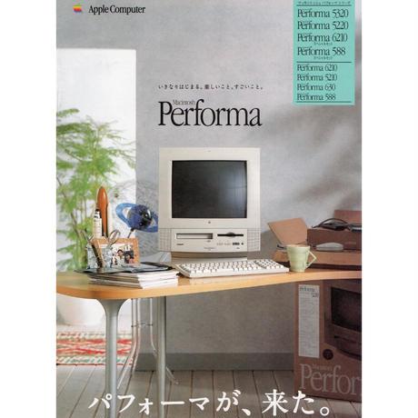 アップルコンピューター/Macintosh Performaのカタログ A