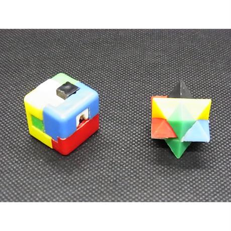 カバヤ ビックリーグチューインガムのおまけ 立体パズル2種
