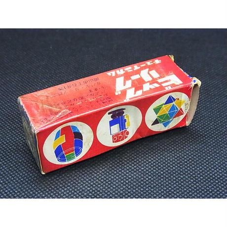 カバヤ ビックリーグチューインガムのおまけ 貴重な外箱と立体パズル2種