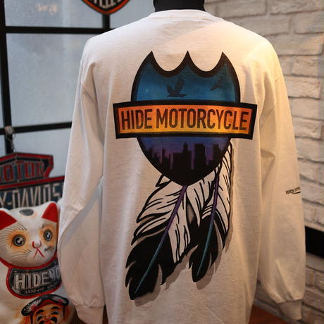 [STENCIL]RG×HIDEMO ON THE ROAD'20 L/S TEE