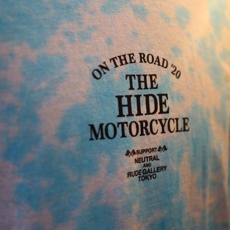 [SKY BLUE]RG×HIDEMO ON THE ROAD'20 L/S TEE