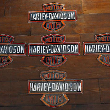 Harley-Davidson Stained Glass From USA