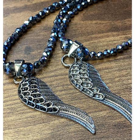 316Lサージカルステンレス 天使の翼 片翼 ウィング