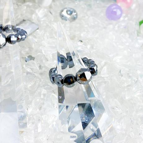 美sha♥オリジナルリング☆ダイヤカット8mm玉☆高純度テラヘルツきらきら˖✧ 指輪