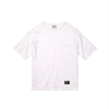 1ポケ/ブランドタグBIG-Tシャツ WHITE / M / L