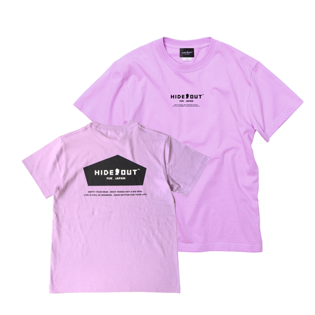 1POINT×BACKPRINT「BASIC-LOGO」 L.PURPLE / s / m / l / xl