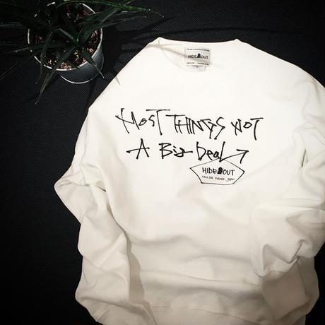 スウェットシャツ No.1 WHITE/M/L