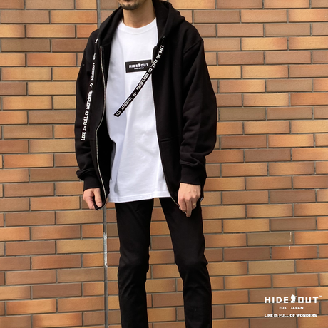 HEAVY ONZ ZIP PK  / BLACK / M / L / XL