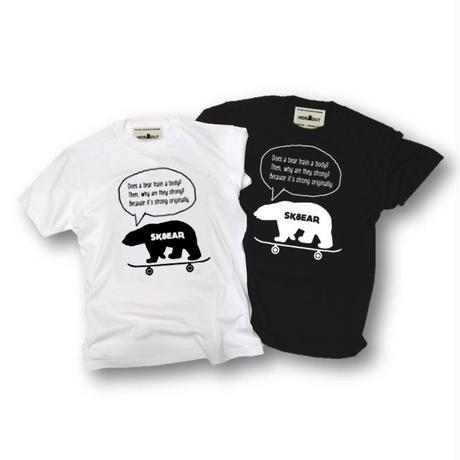 「SK8EAR」Tシャツ/UNISEX/WM/S/M/L/XL