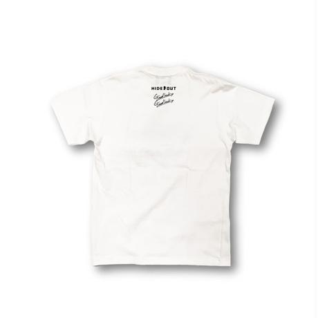 2ポイントプリントT「logo vol.1」 white / s / m / l / xl