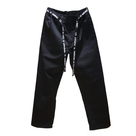TC TWILL EASY PANTS / BLACK / M / L / XL