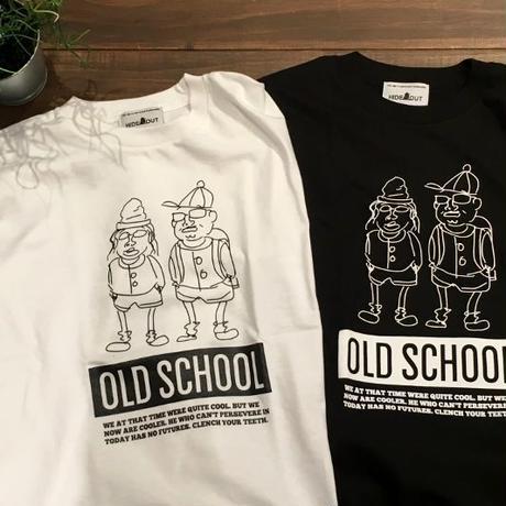 「OLD SCHOOL」Tシャツ/UNISEX/WM/S/M/L/XL