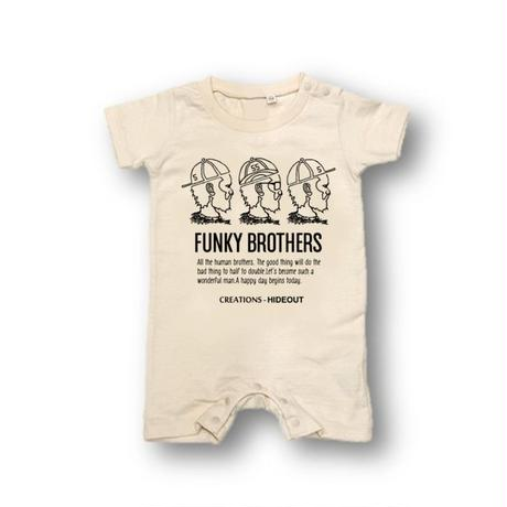 「FUNKY BROTHERS」ロンパース/BABY/70/80