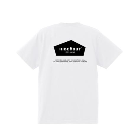 1POINT×BACKPRINT「BASIC-LOGO」 WHITE / s / m / l / xl