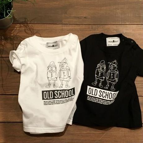 「OLD SCHOOL」Tシャツ/KIDS/90/100/120/140