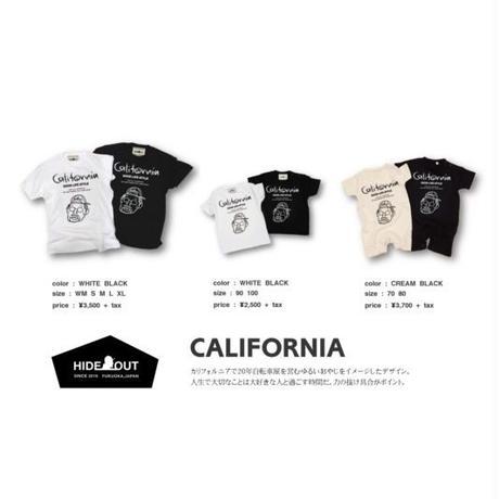 「CALIFORNIA」Tシャツ/KIDS/90/100/120/140