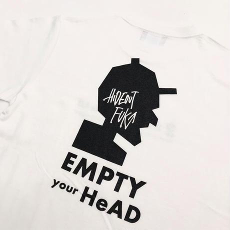 「EMPTY」Tシャツ/UNISEX/S/M/L/XL