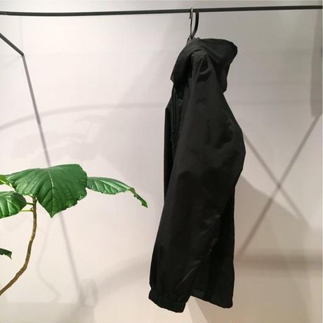 ナイロンフードブルゾン-No.2 BLACK/S/M/L