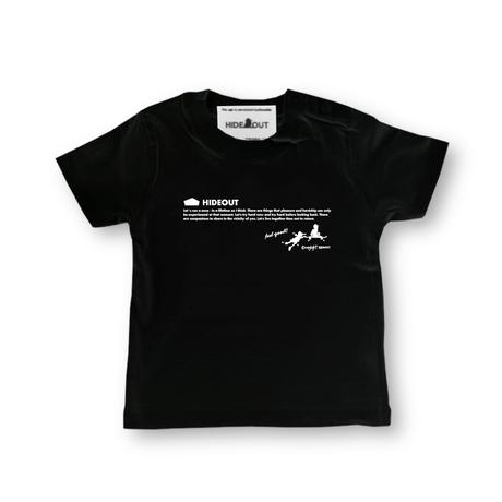 「SKATE BOYS」Tシャツ/KIDS/WHITE/BLACK/90/100/120/140