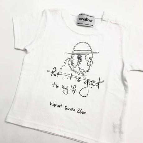 「HAT」Tシャツ/KIDS/90/100/120/140