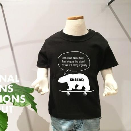 「SK8EAR」Tシャツ/KIDS/90/100/120/140