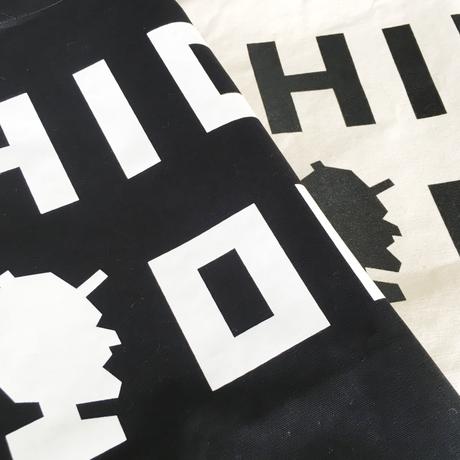 トートバック「LOGO」IVORY / BLACK