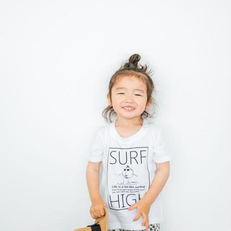 「SURF HIGH」Tシャツ/KIDS/90/100/120/140