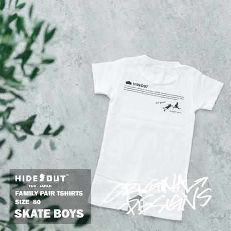 「SKATE BOYS」ロンパース/BABY/80