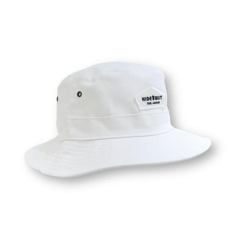 WAPPEN LOGO BACKET HAT / FREE / WHITE