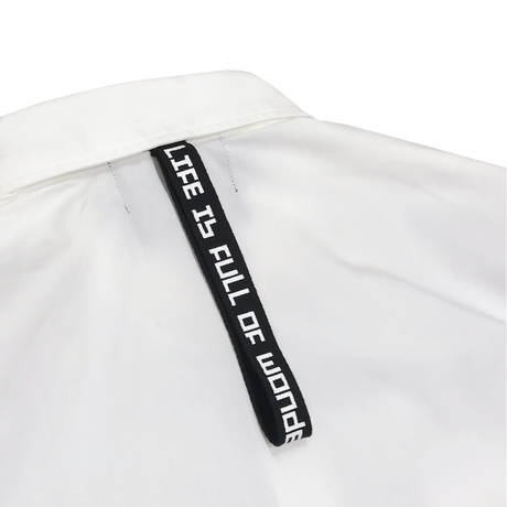 TC TWILL 2 POCKET SHIRTS / WHITE / M / L /XL