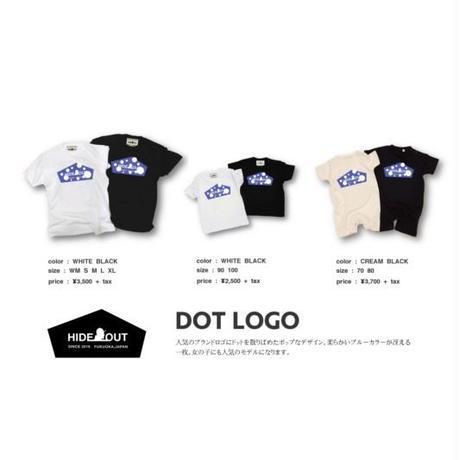 「DOT LOGO」ロンパース/BABY/70/80